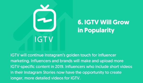 Tendance Instagram IGTV