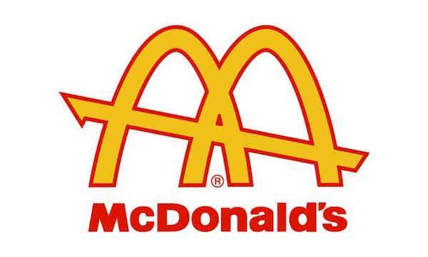 Logo golden arches McDonalds