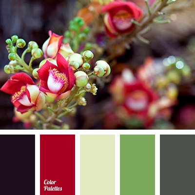 Palette couleurs printannier