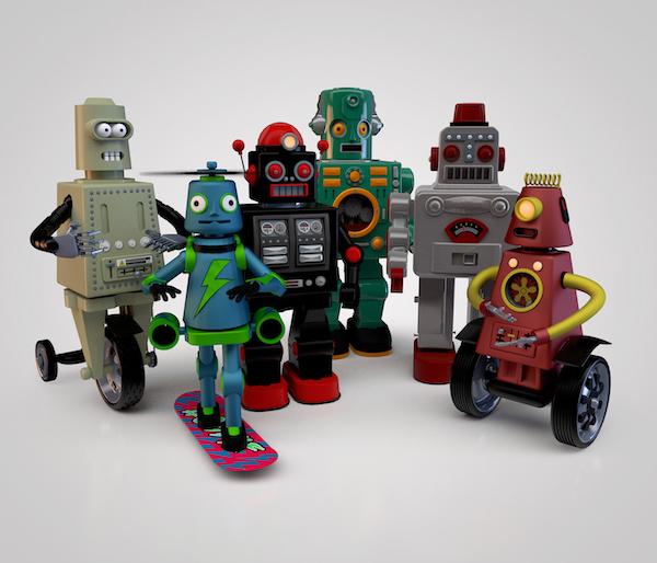 Personnages robots