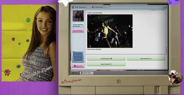 Site Britney Rétro