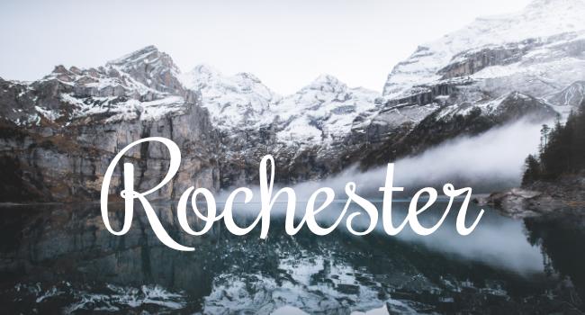 Typographie Rochester