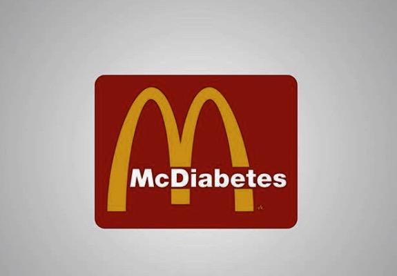 Détournement du logo McDonald's