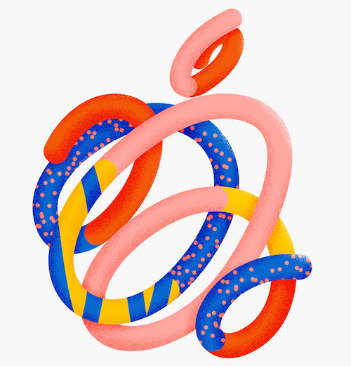 Logo abstrait Apple