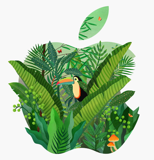 Logo Apple jungle