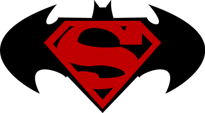 Logo Superman Batman