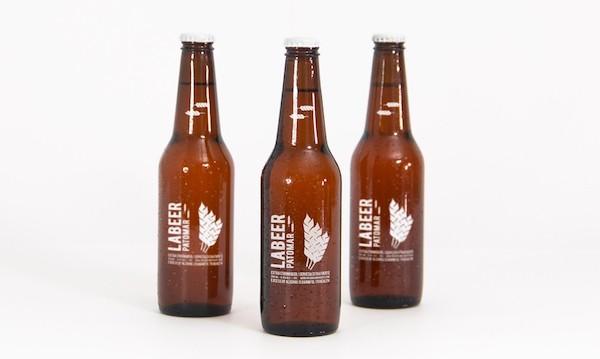 Mockup bouteille de bière