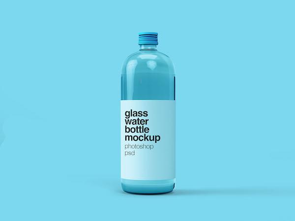 Mockup bouteille d'eau