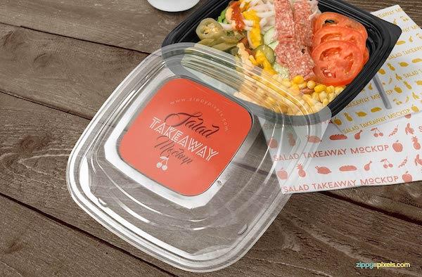 Mockup boite à salade