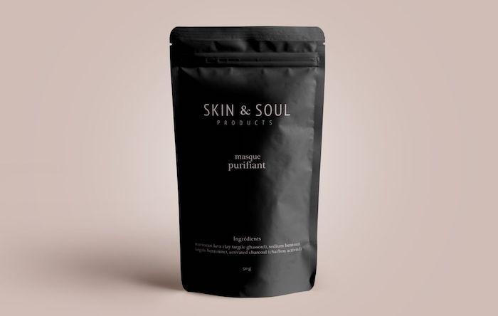 Packaging masque pour la peau