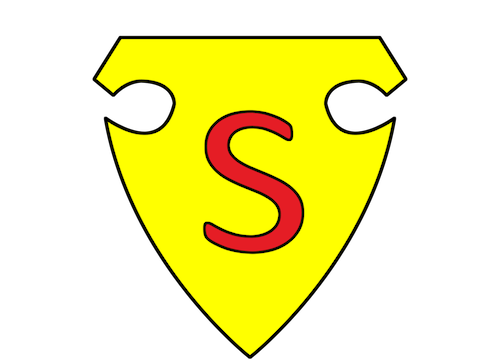 Premier logo de Superman