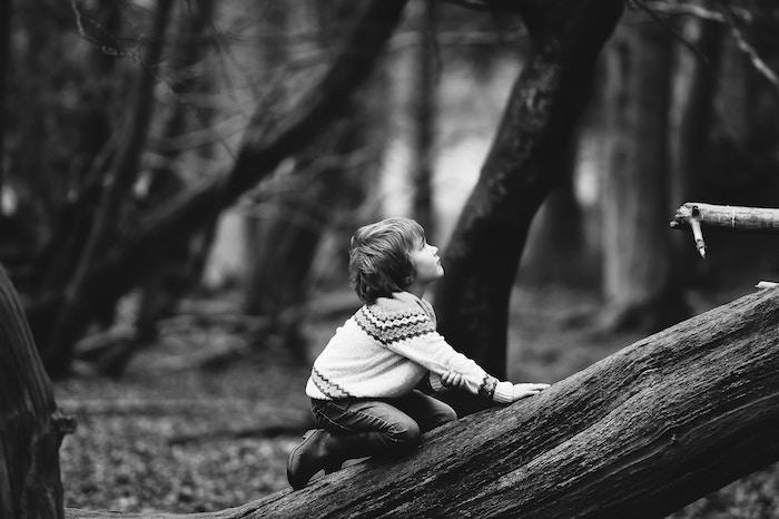 Saturation photographie en noir et blanc