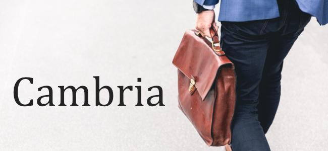Typographie Cambria