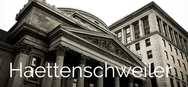 Typographie Haettenschweiler