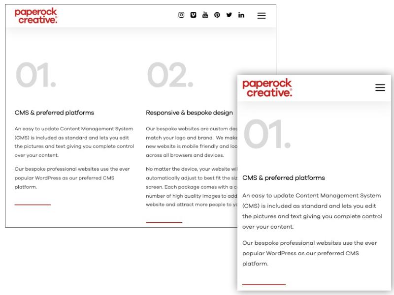 Typographie responsive