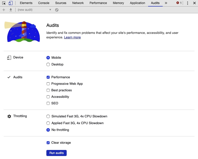 Audit inspecteur Google
