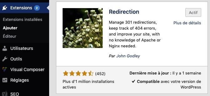 Plugin redirection