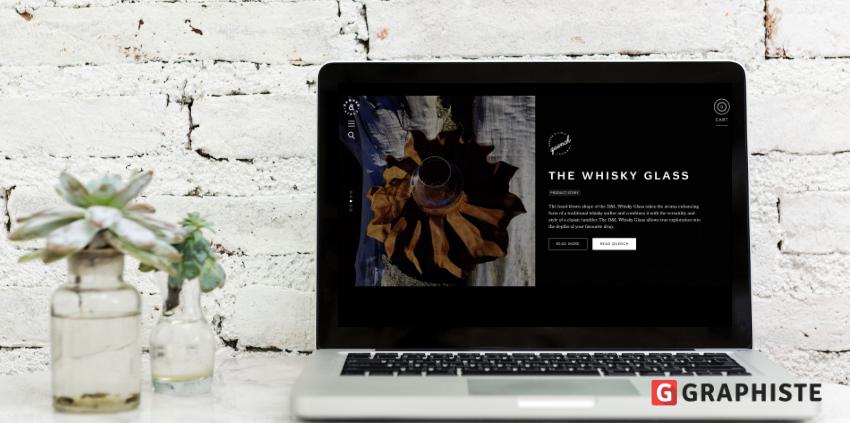 Site web background noir