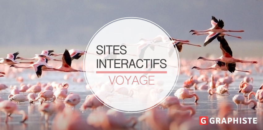 Sites interactifs voyage