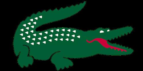 Logo Lacoste crocodile