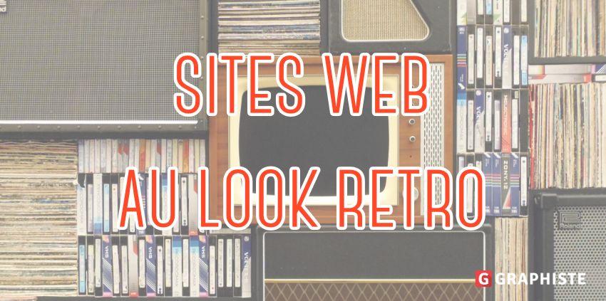 Site web au look rétro