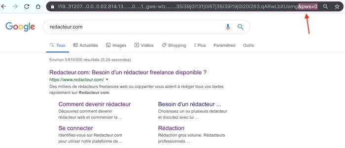 Rechercher vrai position sur Google