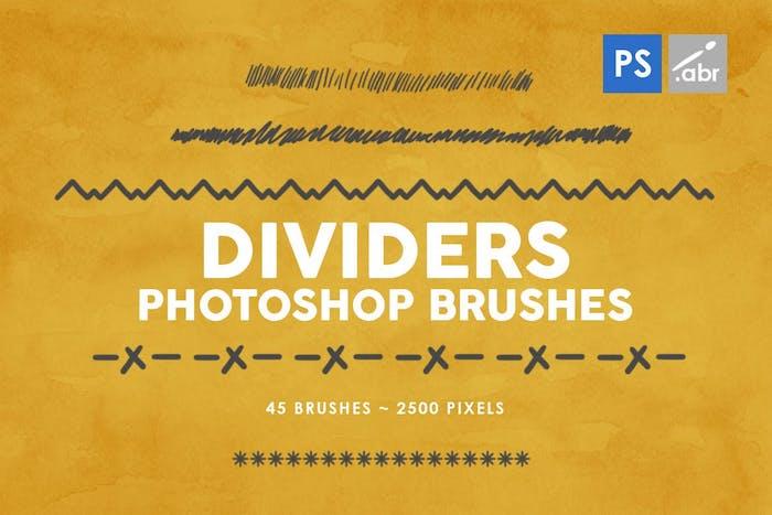 Brushes divider
