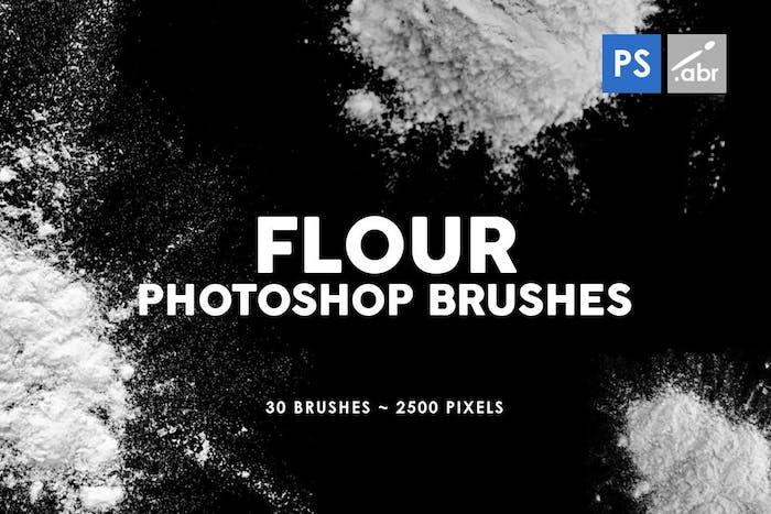 Brushes farine