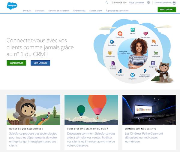 Effet de groupe Salesforce