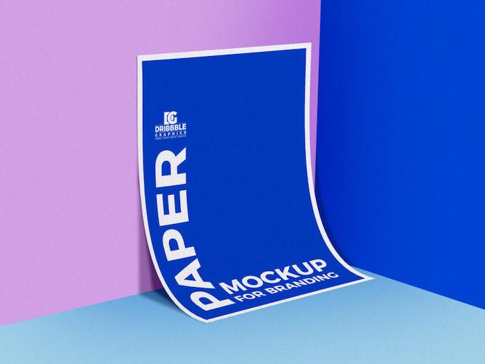 Mockup affiche A4