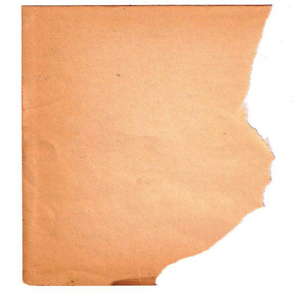 Papier déchiré à droite