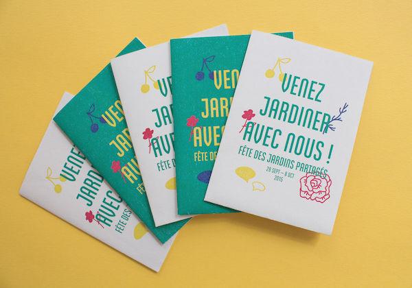 Typographie flyer