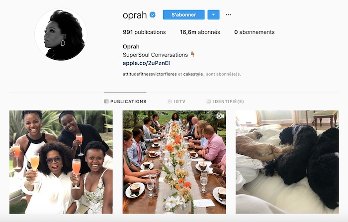 Personal branding Oprah