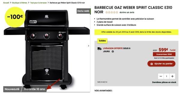 Garantie e-commerce