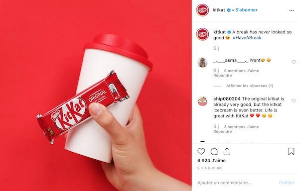 Hashtag Kitkat