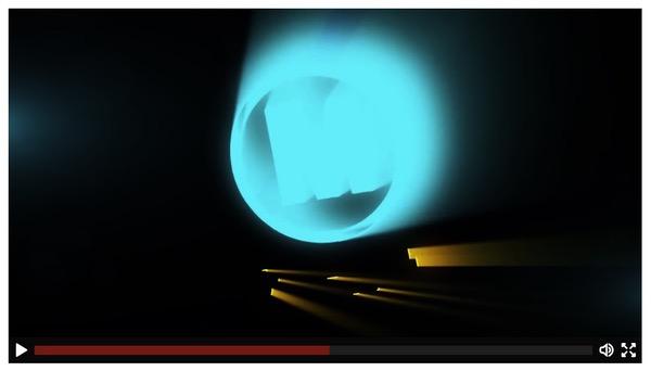 Animation logo lumière
