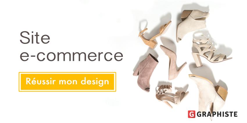 Réussir design site e-commerce