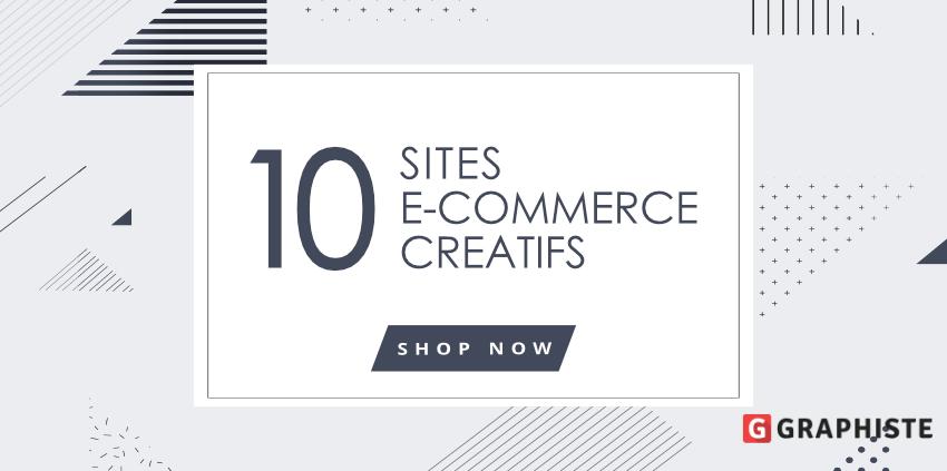 Sites e-commerces créatifs originals