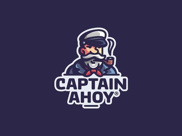 Logo mascotte capitaine