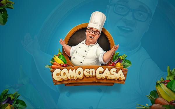 Logo mascotte cuisinier