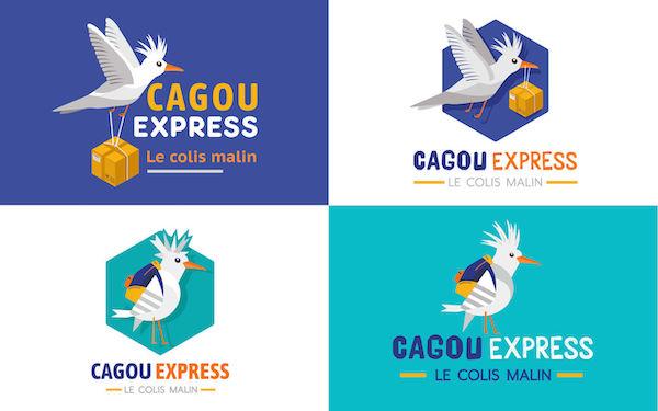 Logo mascotte oiseau
