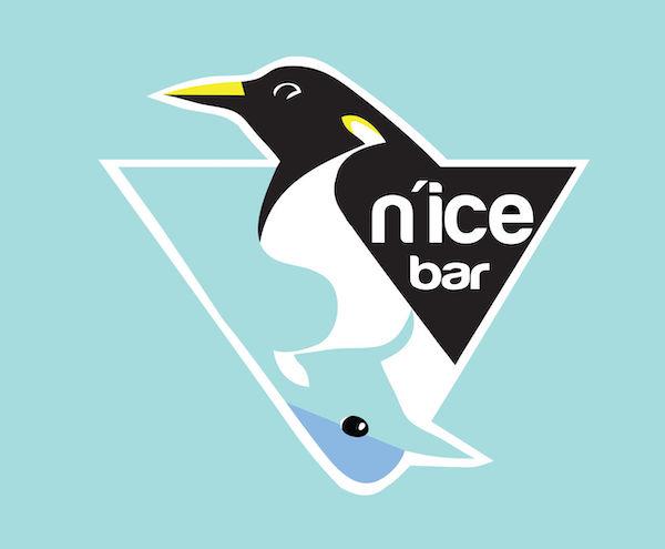 Logo mascotte pingouin