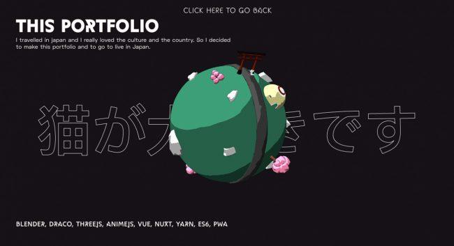 portfolio artiste graphiste freelance inspirant CV