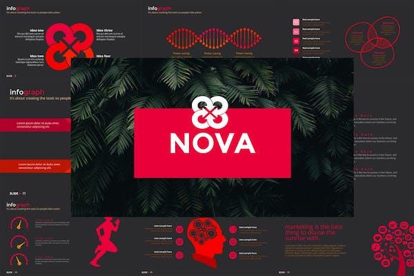 image theme gratuit pour powerpoint graphiste theme nova