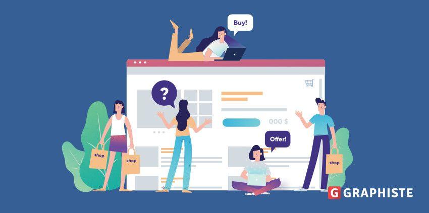 Web design e-commerce