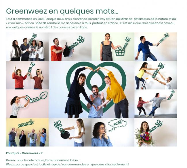 Greenweez histoire entreprise contenu evergreen redacteur