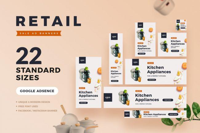 bannière web pour aliment inspiration cuisine graphiste