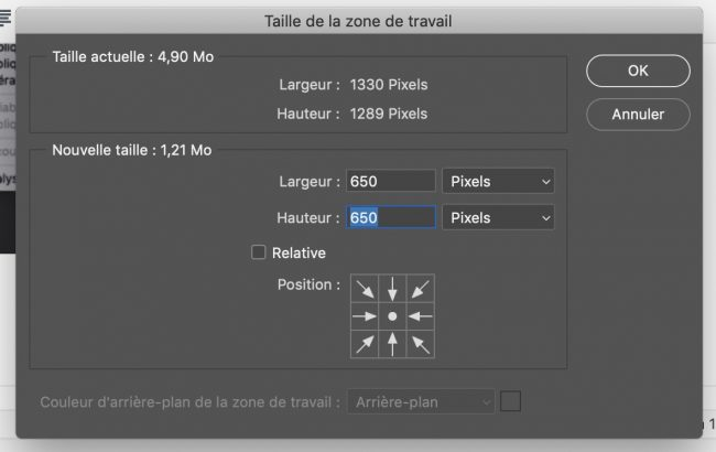 entre de travail en pixels graphiste photoshop