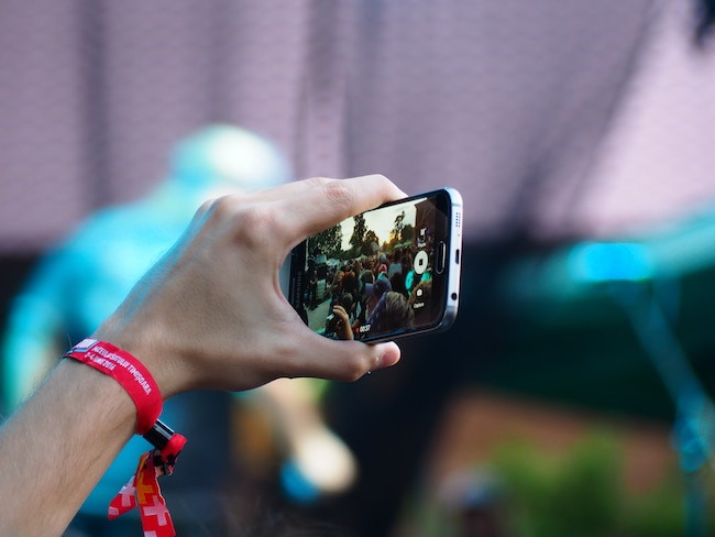 format video filmer en smartphone