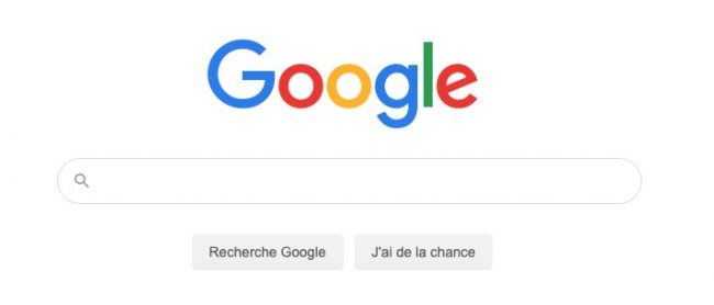 image de la page google de recherche pour son design cas d'etude